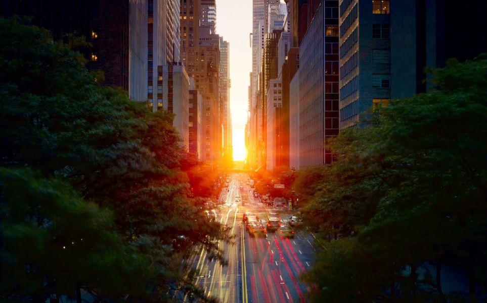 Manhattanhenge 3