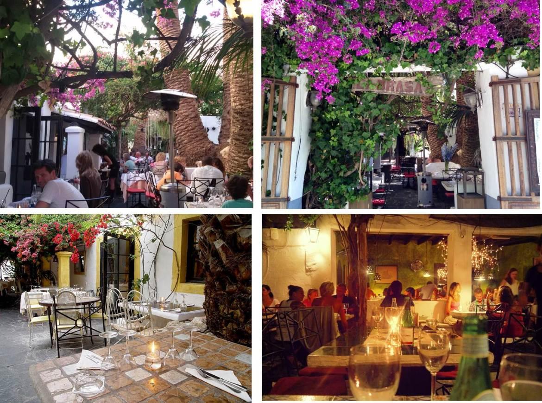 Ibiza. Restaurante La Brasa