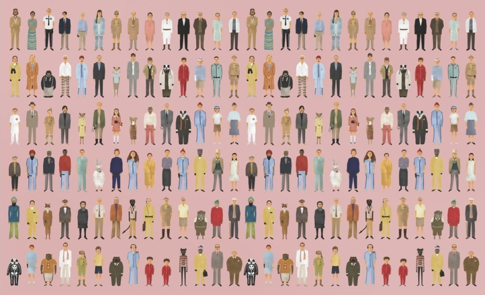 Wes Anderson - personajes