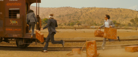 Wes Anderson - running