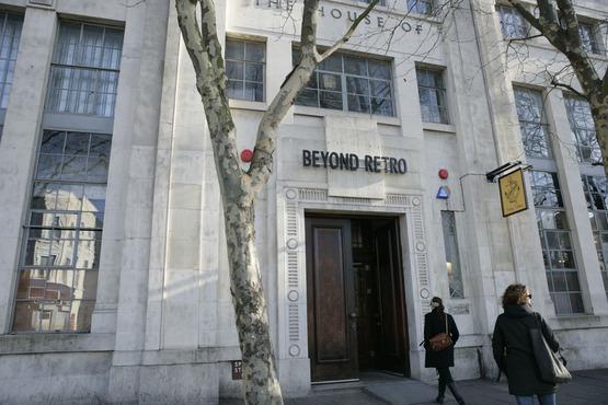 Beyond Retro fachada