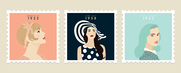 women stamps