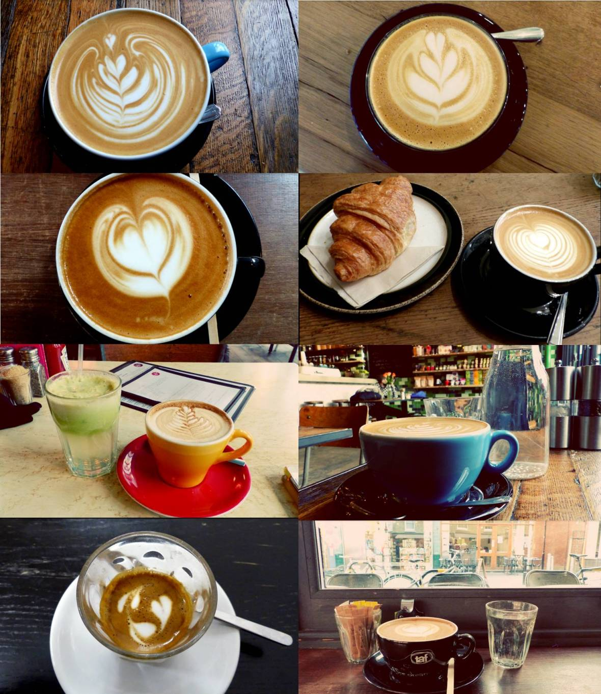 London coffees