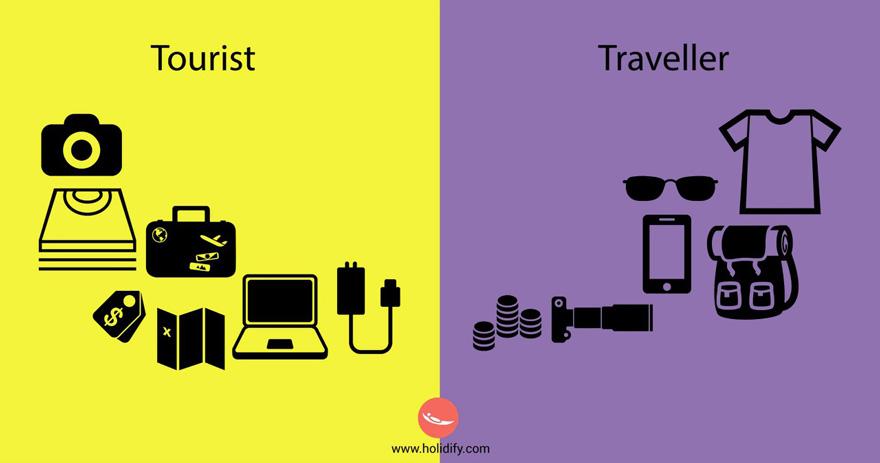 Tourist vs Traveller