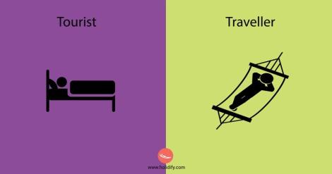 Tourist vs Traveller3