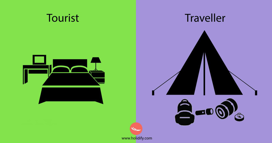 Tourist vs Traveller4